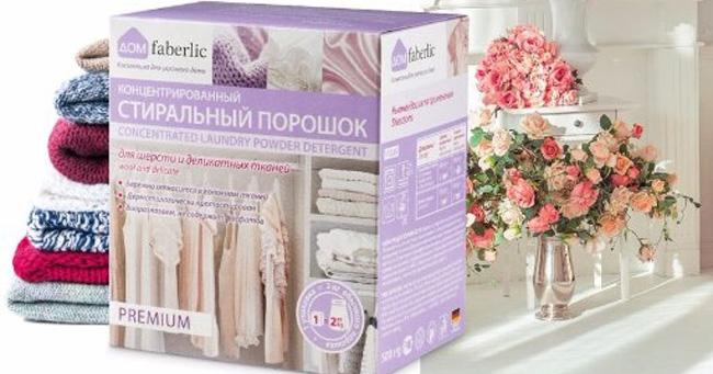 Detergenti Faberlic