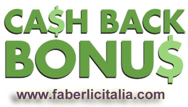 Sistema cashback Faberlic
